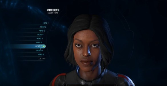 Mass Effect Andromeda - Female Head 7