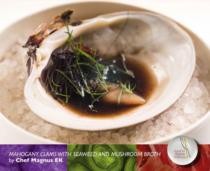 Magnus-EK---Mahogany-Clams-with-seaweed-and-mushroom-broth