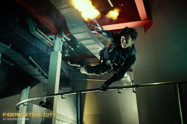 Fabricated City Ji Chang Wook Action Hero
