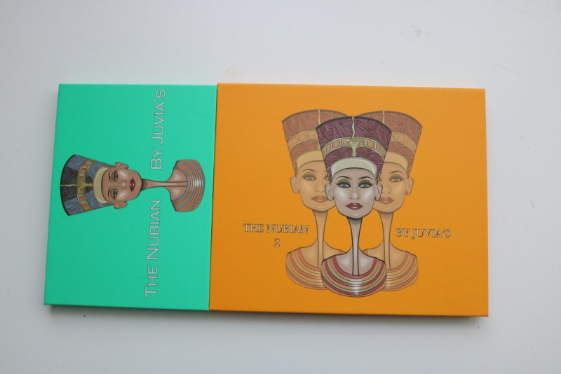 The Nubian and Nubian 2 palettes, closed