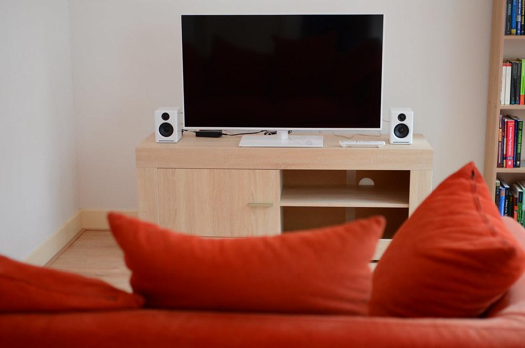 Living Room White Background