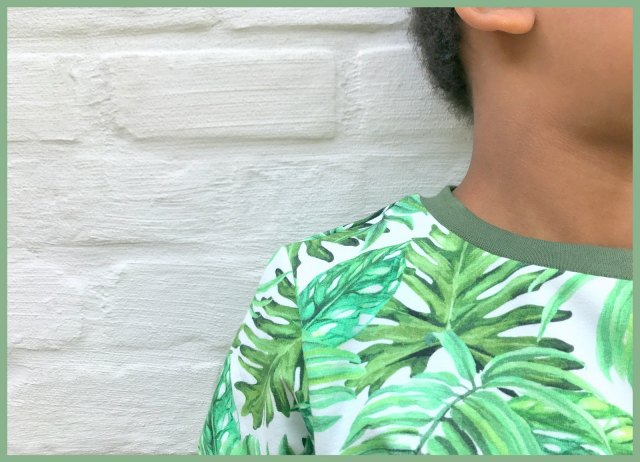 botanical boy (neckline)