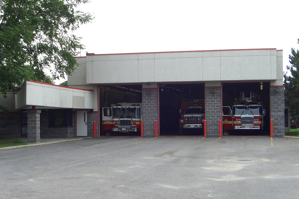 OFS Fire Station 24 on Viewmount Drive Ottawa Ontario Can