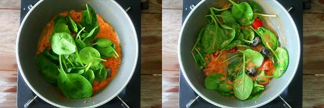 spinach tomato pasta 4