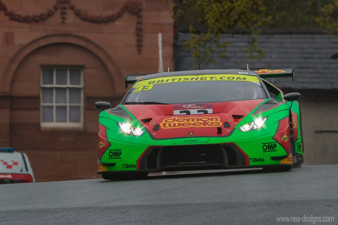 THE Oulton Park shot