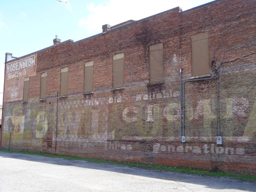 Owl Cigar Mural, Rosenbaum Building, Demopolis AL