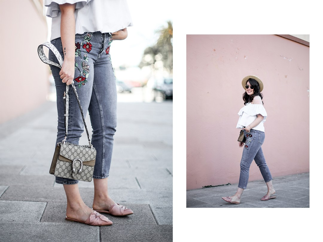 embroidered-jeans-topshop-knot-slippers-new-look-dionysus-off-shoulder-top-myblueberrynightsblog16