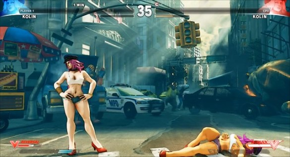 Street Fighter V Kolin v Poison Mod