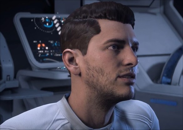 Mass Effect Andromeda - Scott Ryder Eyes