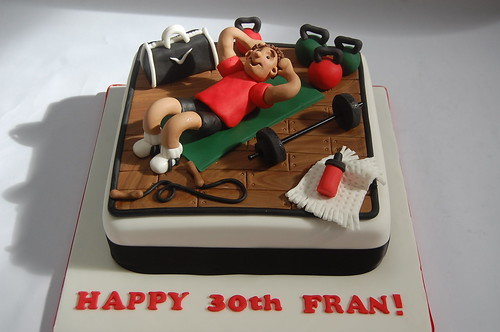 Birthday Cake Images Gym ~ Gym cake beautiful birthday cakes