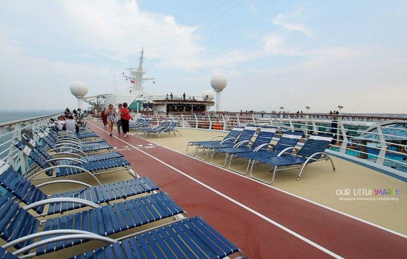 Jogging Track on Mariner of the Seas