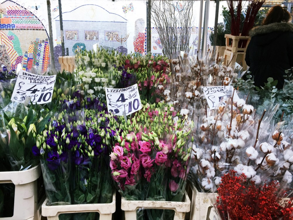11 Dec 2016: Columbia Road Flower Market | London, England