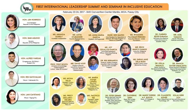 International Leadership Summit in Inclusive Education