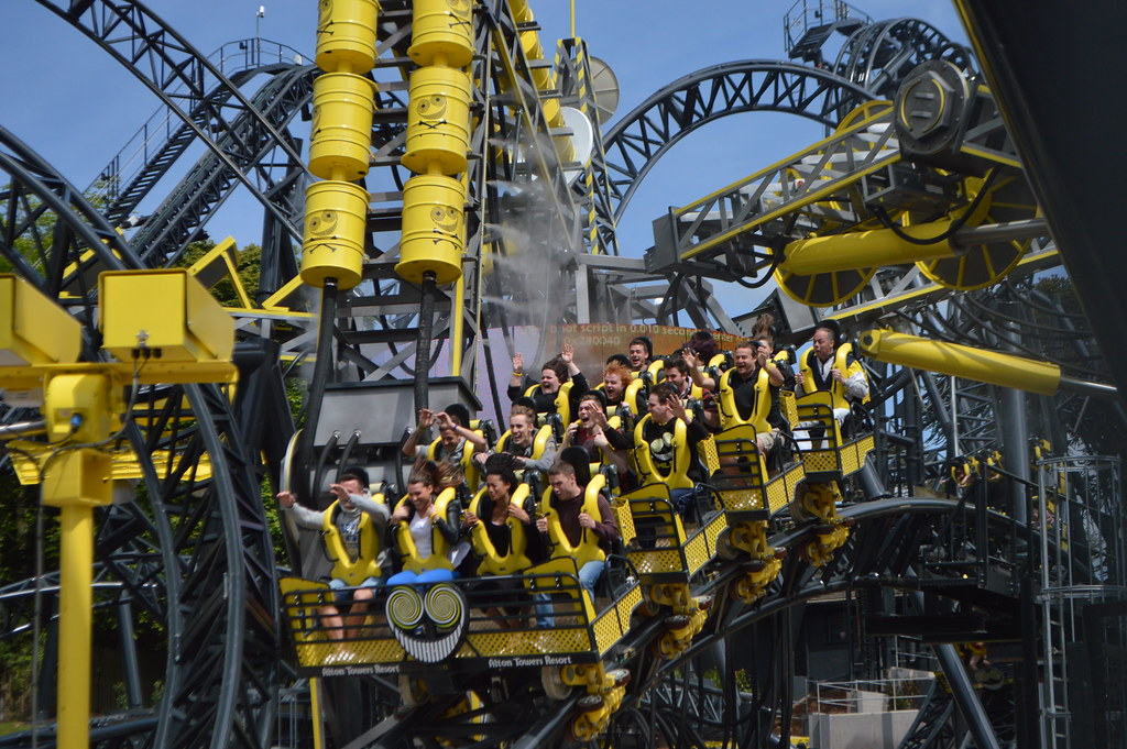 The Smiler The World S First 14 Inverting Roller Coaster