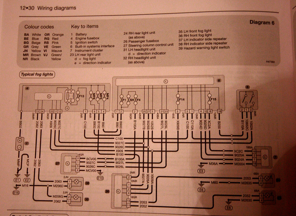 Peugeot 407 Wiring Diagram Peugeot Circuit Diagrams