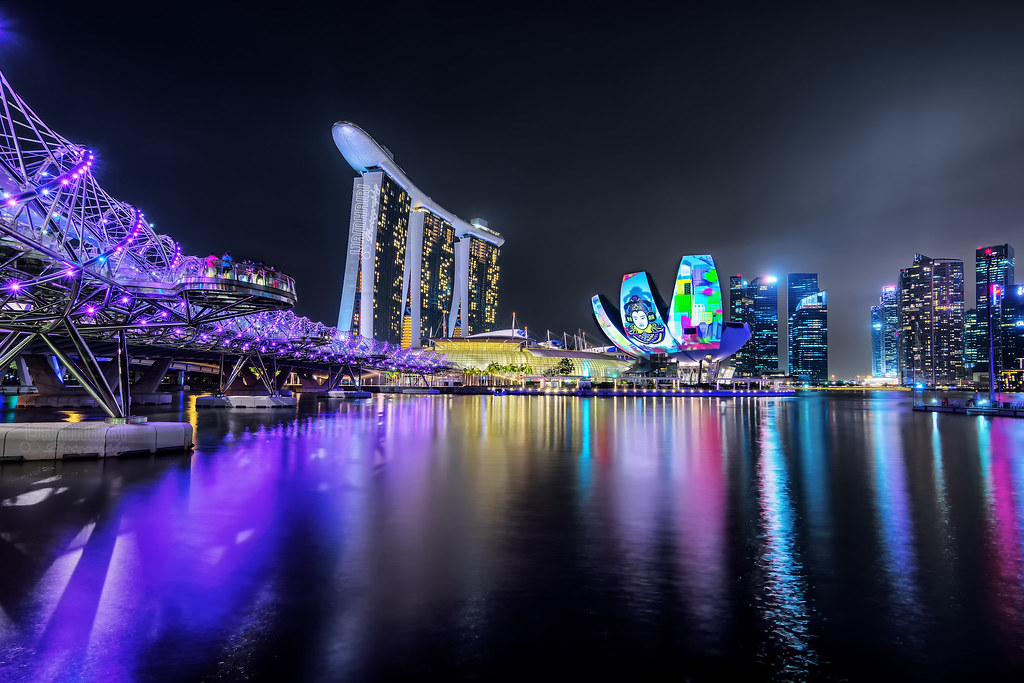 Marina Bay Sands's Ilight Show