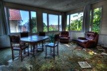 Of Abandoned Hotel France. Urban Requiem