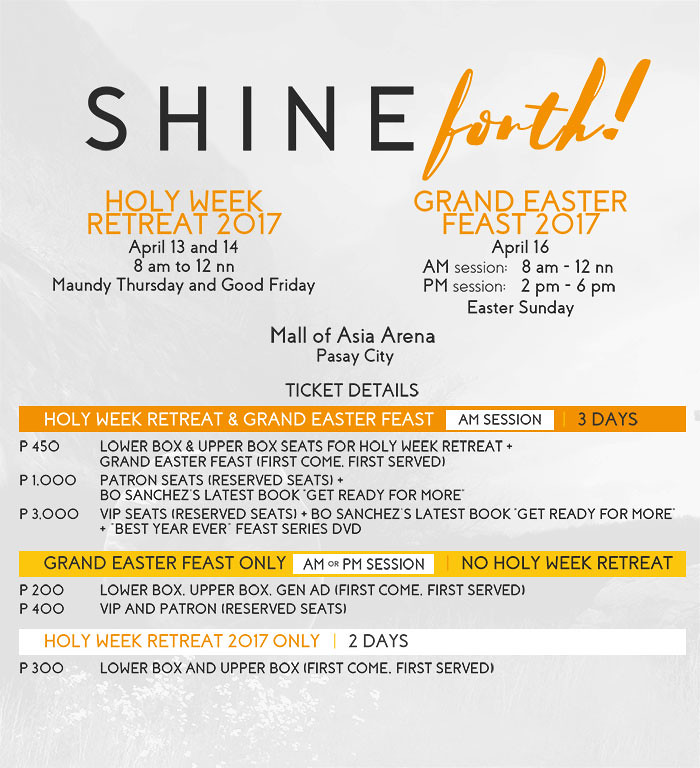 Shine Forth Poster