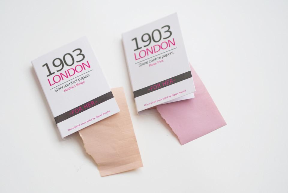 1903 london blotting paper puuteripaperi