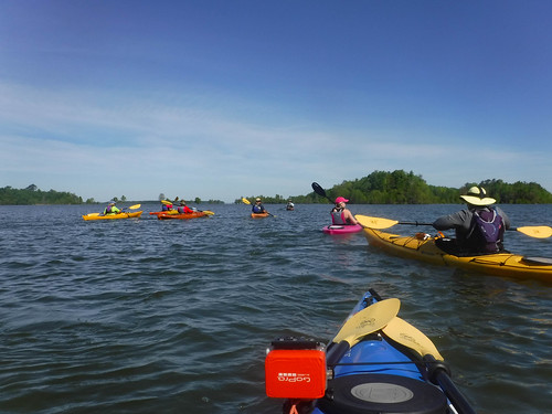Paddle to Church Island with the Tri-County Blueways Paddlers-002