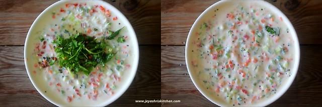 mixed veg raita 4