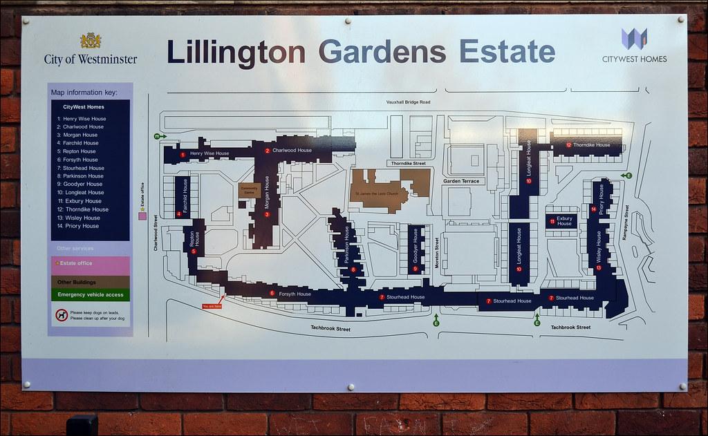 Lillington Gardens Estate  Map  Darbourne and Darke