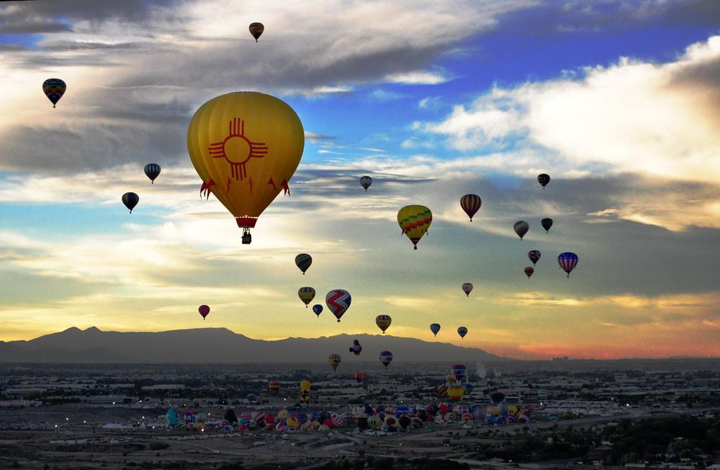 New Mexico Balloon  Albuequerque Balloon Fiesta Here is