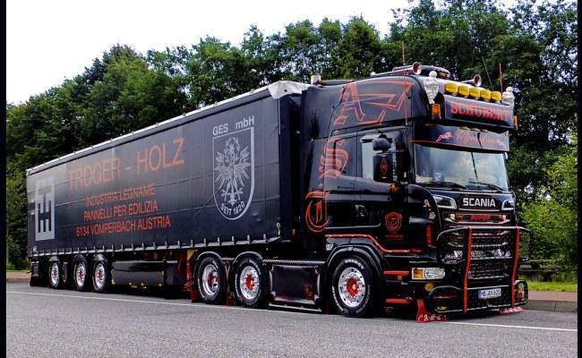 Scania R620 V8 Topline Andreas Schubert Transporte Ax620