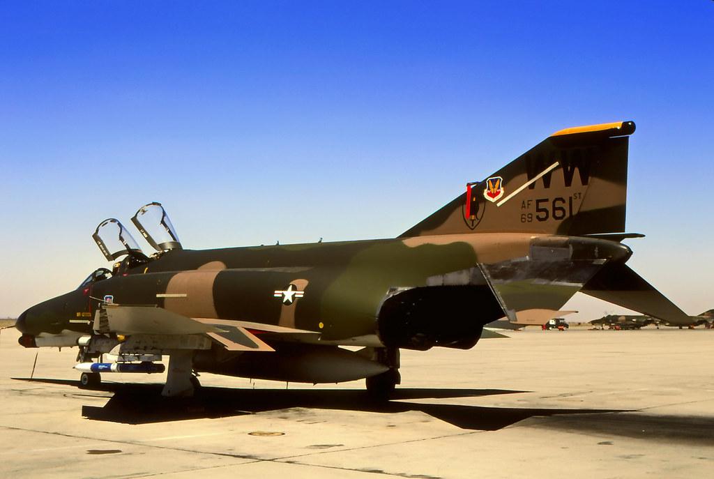 69 7561 WW F 4G 35 TFW 561 TFS George AFB