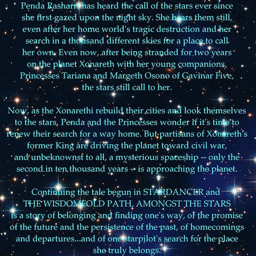 ANNNNNND, the back-cover copy! I wrote the HELL out of this book, folks. I can't wait for it to be out there! #amwriting #ForgottenStars #AmongstTheStars #sciencefiction #spaceopera #soon