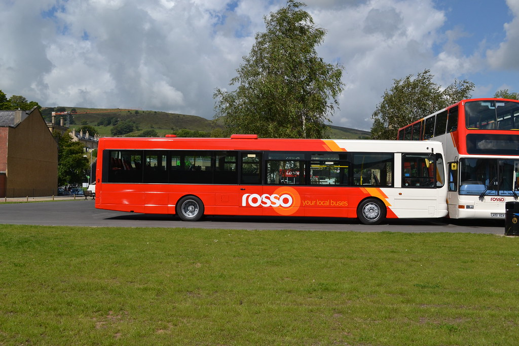 Rossendale Transport rebranded quotRossoquot bus Fleet No 237