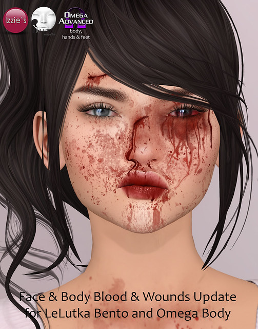 Face & Body Blood & Wounds Update