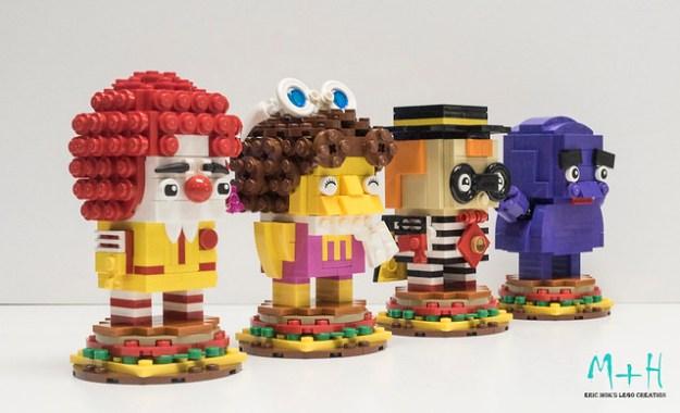 Mcdonalds Brickheadz 2