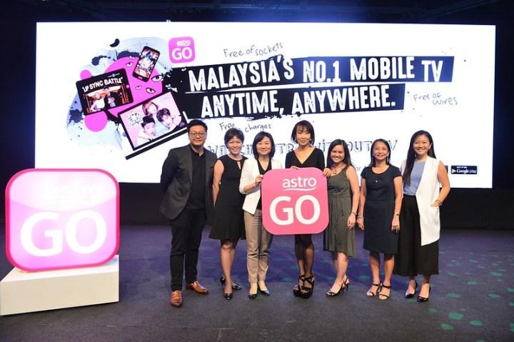 From left Ridhuan Sidek, Gan Ling Sze, Rosanne lo, Liew Swee Lin, Charmaine Kwan, Tina Tong and Alexa