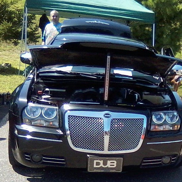 Black Pimped Out Carshow Chrysler Chromedout 300 Ct Cars