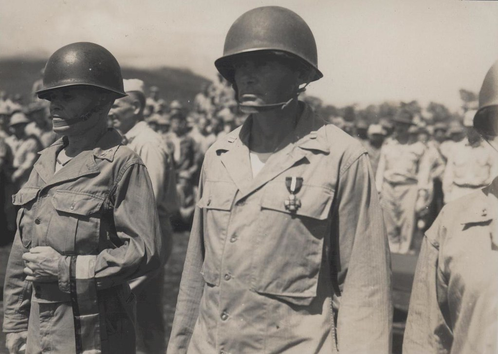 Joseph Buckley and Lewis Puller Awarded Navy Cross 1944