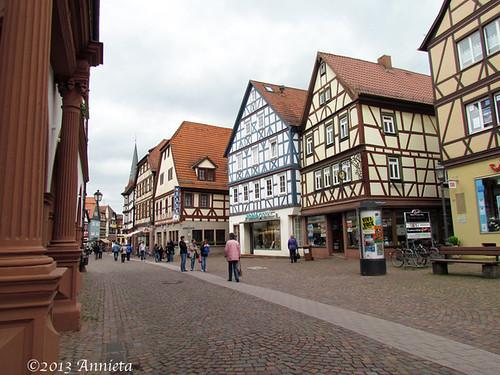 Lohr Am Main Is Een Gemeente In De Duitse