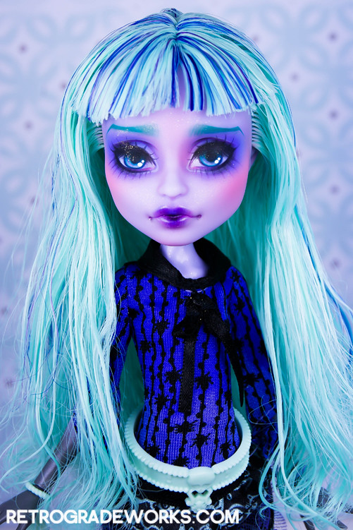 Custom Monster High Repaint Twyla Shes Available