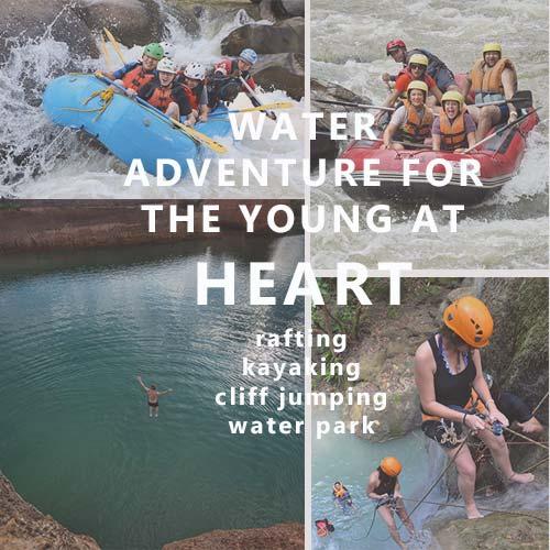 Water Adventure Sidebar