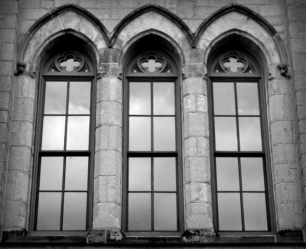 Gothic Windows. Pa Philadelphia University Of Pennsyl