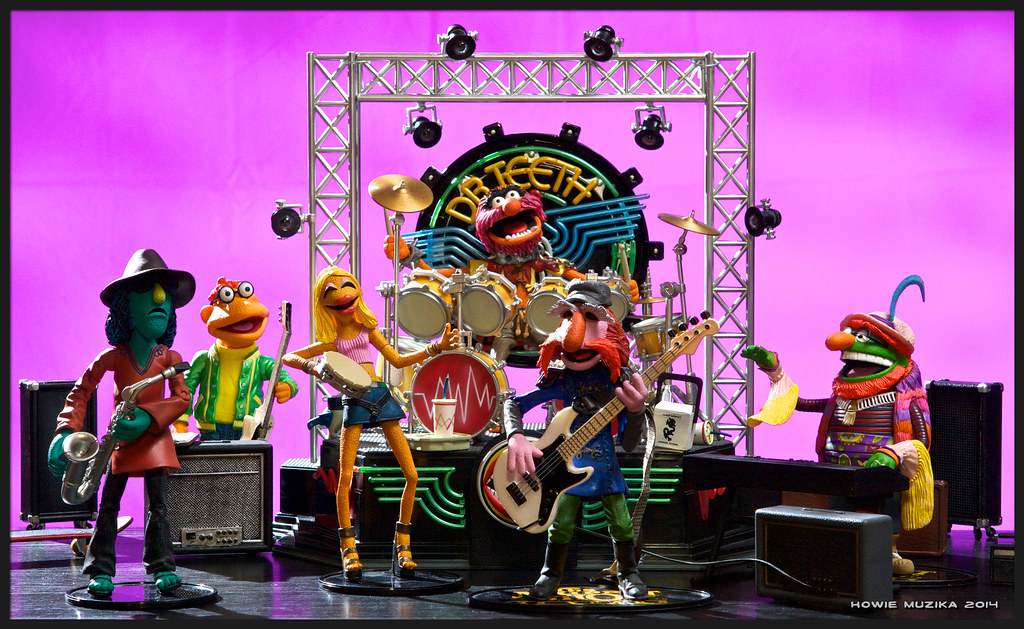 Dr Teeth and the Electric Mayhem  The figures are about 5  Flickr