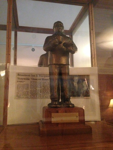 Duncan Hines Award, Beaumont Inn, Harrodsburg KY