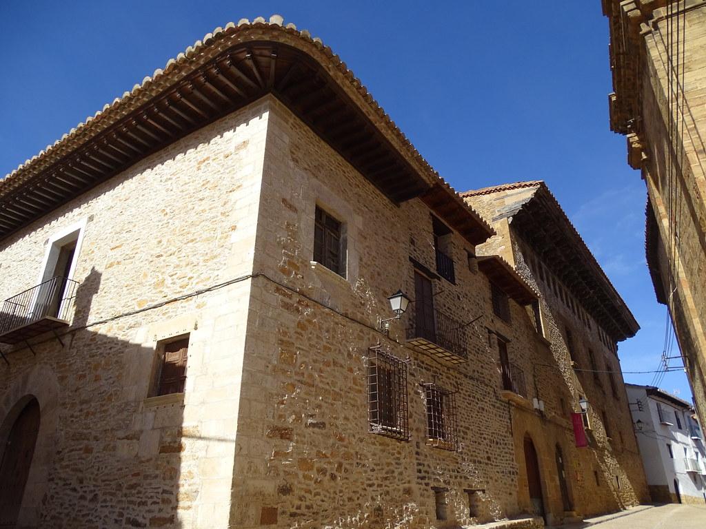 La Iglesuela del Cid Comarca del Maestrazgo Teruel Casa Aliaga 01