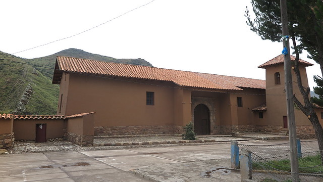 Templo Santa Bárbara (Canchis, Prelatura de Sciuani, abril de 2017)