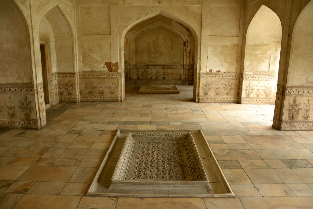 Hammam Royal Baths Red Fort Delhi  The hammam of the