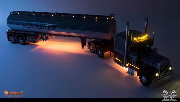Peterbilt 379 + Polar Tanktrailer 1:13