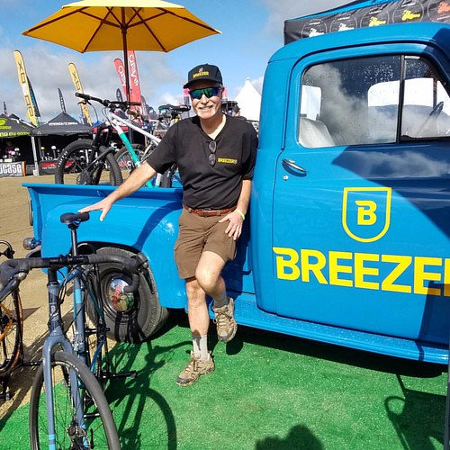 I caught Joe Breeze setting up at the Breezer Bikes booth at #seaotterclassic early this morning. He reminisced about Jobst Brandt's quirky mansplaining personality.