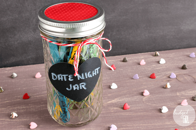 date jar: affordable DIY Christmas gifts