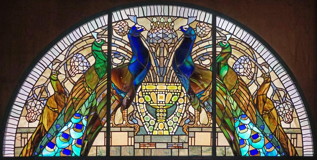 Le muse du vitrail art nouveau Villa Torlonia Rome  Flickr