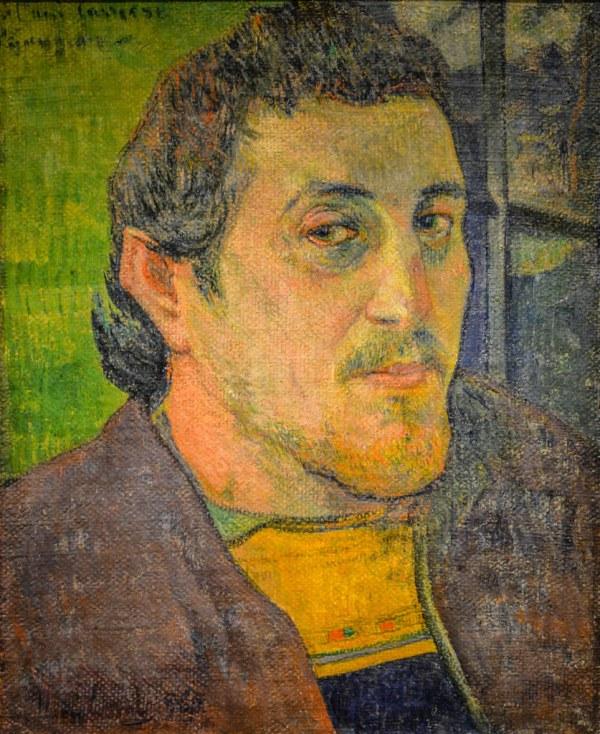 Paul Gauguin - Portrait Dedicated Carriere 1889